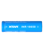XTAR® Molicel 18650 2600mAh Unprotected Li-ion Flat Top Battery