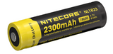 Nitecore® NL1823 Battery - 2300 mAh Protected Button Top