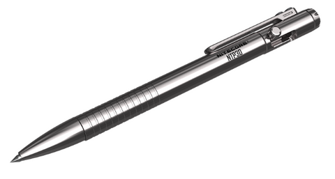 Nitecore® NTP30 Titanium Bidirectional Bolt Action Pen