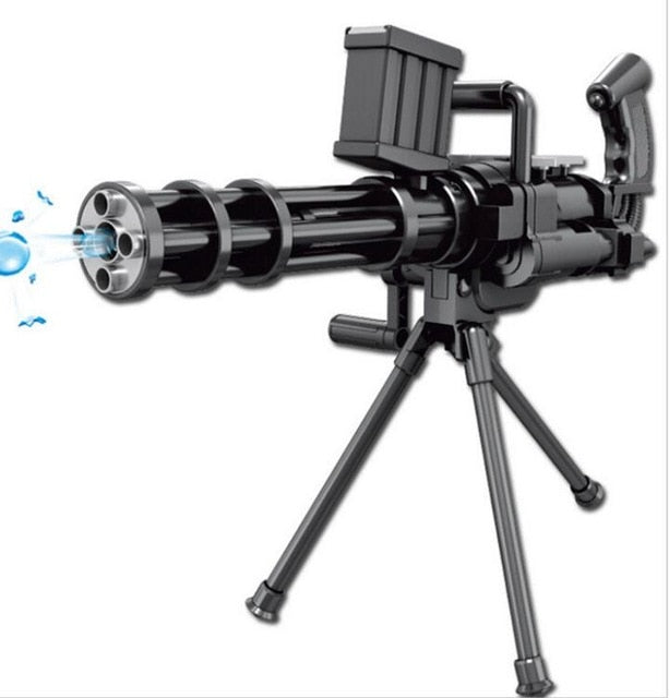 Must Have Water Play Gatling Gun Toy Simulation Gun Enjoy Hours of  Fantastic Fun Get yours now 40% OFF