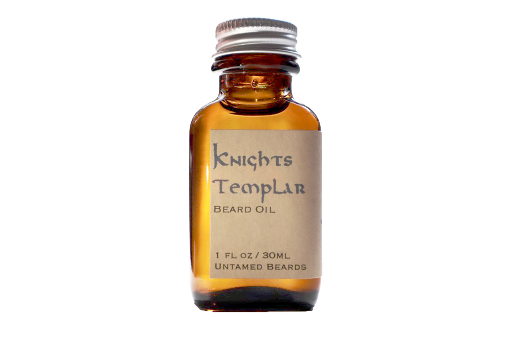 Knights Templar Beard Oil