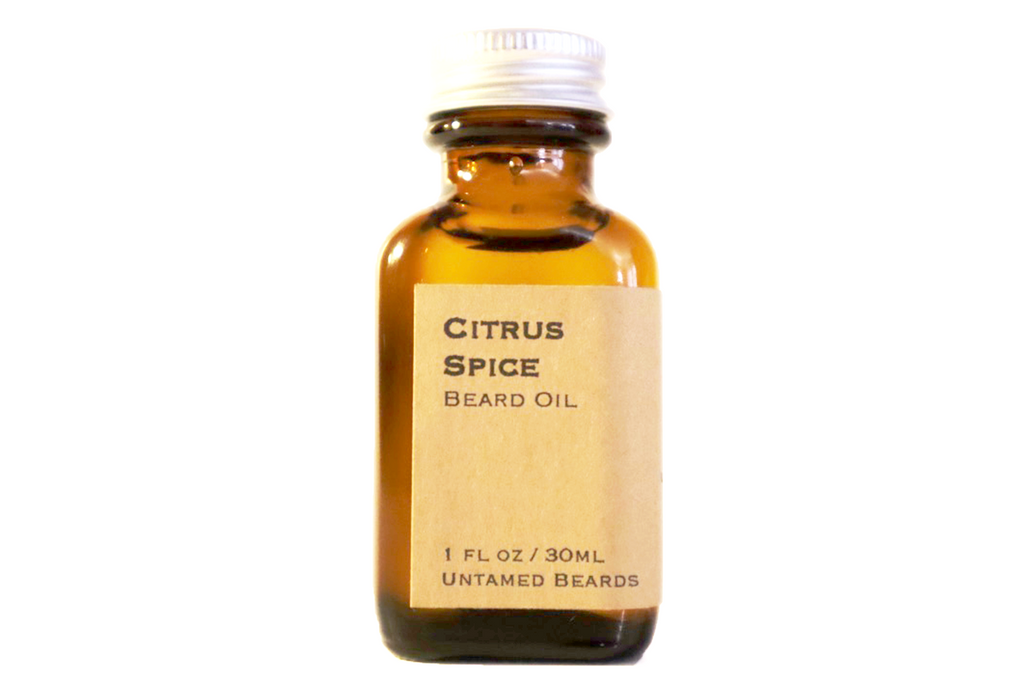 Citrus Spice Beard Oil
