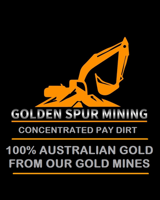 Golden Spur Massive 10L Gold Pay Dirt Best Return Paydirt in Oz Australian Licenced Family Business Quick Delivery Full Support