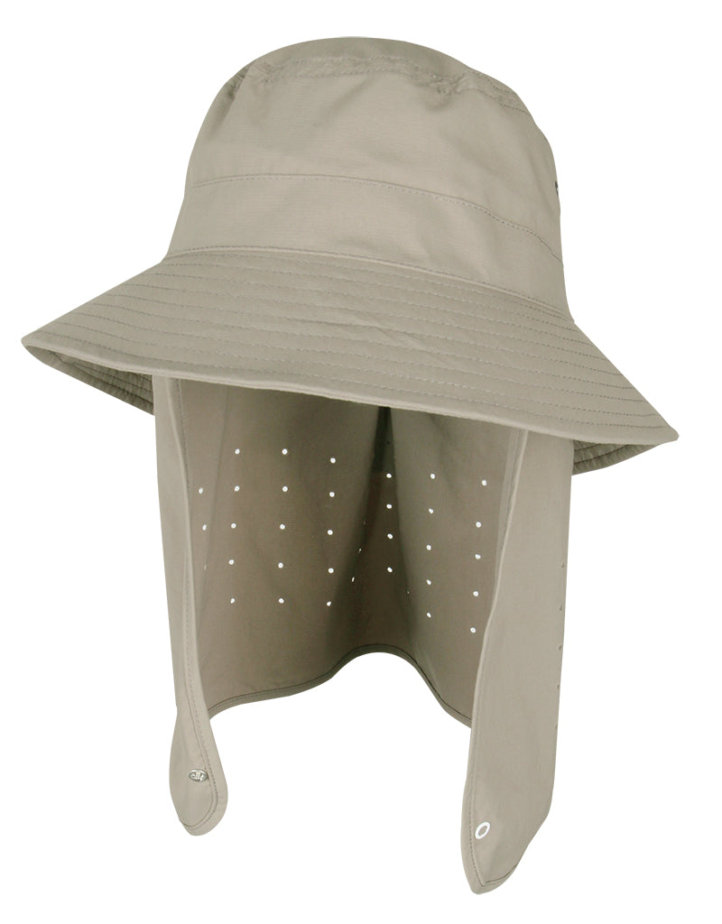 Zion - Performance Bucket Hat w/ Detachable Sun Cape
