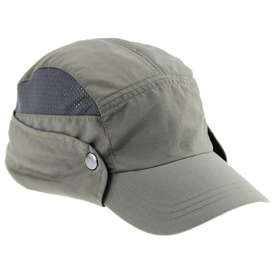 Outdoor Hat - Rainier - Performance Hat W/Foldable Sun Cape