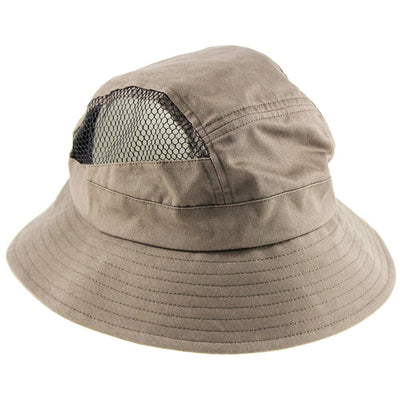 Sun Hat - Maroon - Washed Cotton Bucket Hat