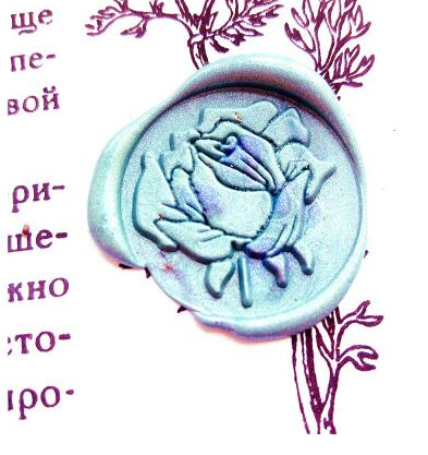 Rose Wax Seal Head (Style 2)