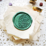 I Love You To The Moon & Back Wax Seal Head