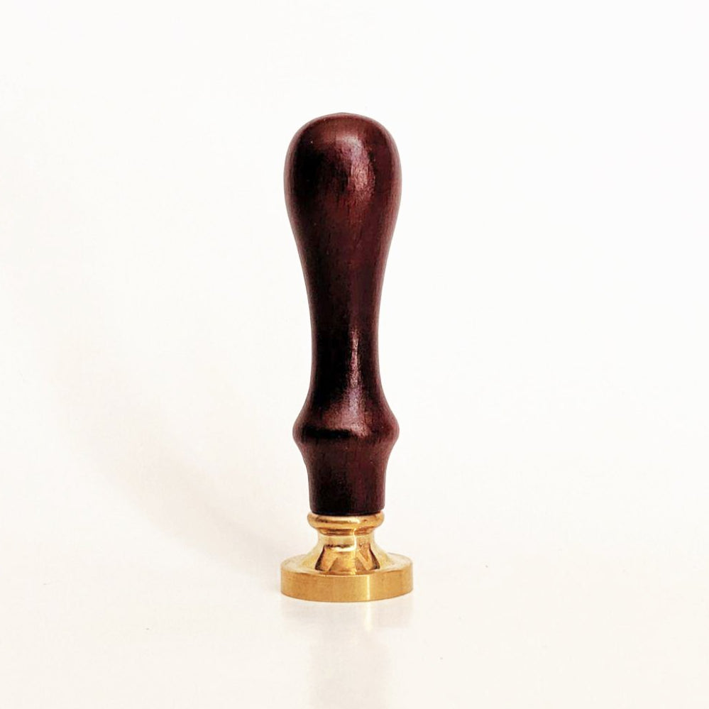 Standard Dark Wood Seal Handle