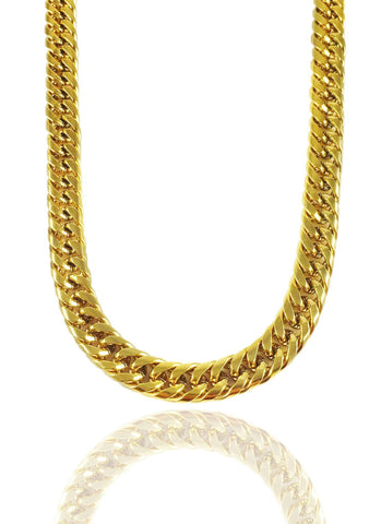 14k Solid Gold x Cuban Link Chain