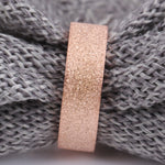 Micro Iced Stone Pave Ring (Rose Gold)