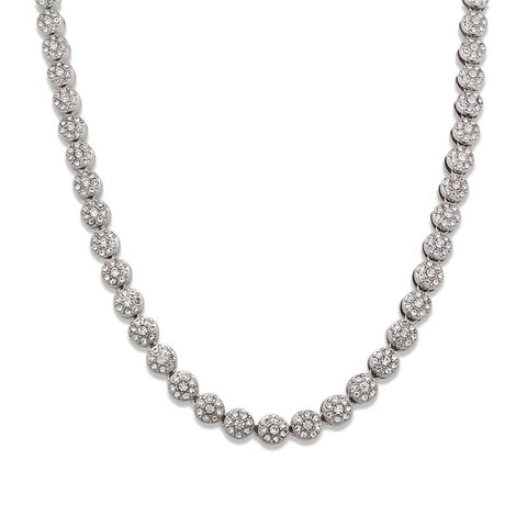 Iced Ball Chain Necklace