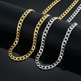8MM Gold/Silver Micro Cuban Chain