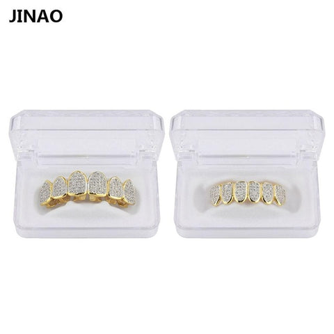 Flooded Handset 14k Grillz
