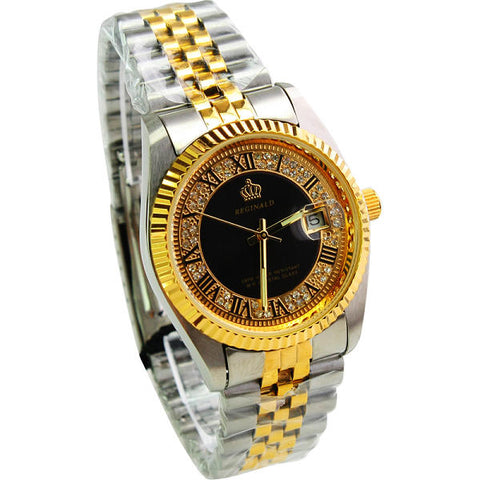 Iced 18k Reginald Watch