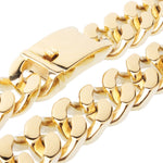 Gold/Silver 20MM Heavy Miami Cuban Link Chain