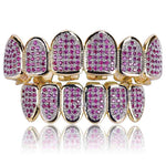 Flooded Handset 14k Grillz (Purple)