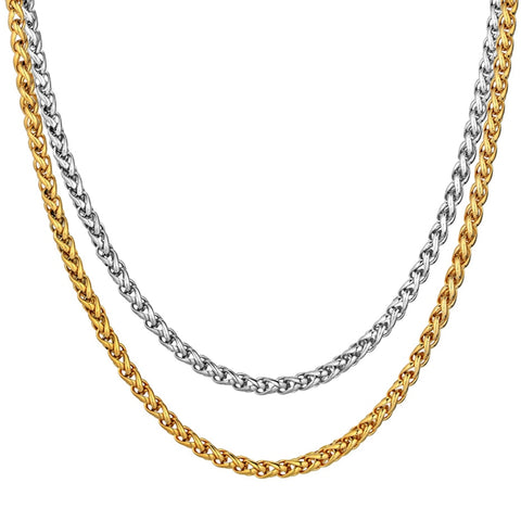3MM Gold/Silver Rope Chain