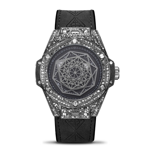 Micro Studded Illusional Watch