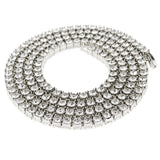 Single Row Micro Diamond Tennis Chain