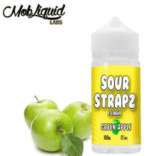 Load image into Gallery viewer, Sour Strapz eLiquid - Green Apple