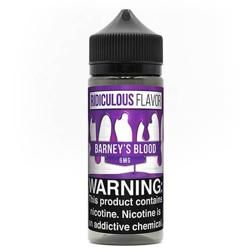 Ridiculous Flavor Vape Juice - Barney's Blood