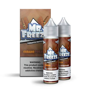 Mr. Freeze eLiquid Tobacco Edition - Cubano Tobacco