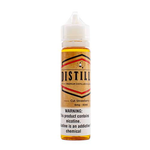 Distilled eLiquid - Cut Strawberry