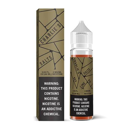 Charlie's Salts eJuice - Gold Key Lime Pie Sub Ohm Salts