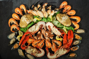 ${product_type Luxury Seafood Platter for 6 to 8 The Berwick Shellfish Co.