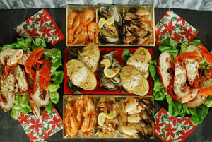 ${product_type Banquet Seafood Platter serves 8 to 10 The Berwick Shellfish Co.