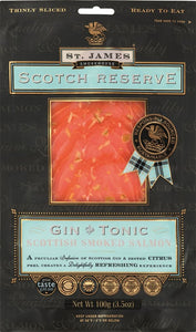 ${product_type Gin & Tonic Infused Smoked Salmon ( 200g ) The Berwick Shellfish Co.