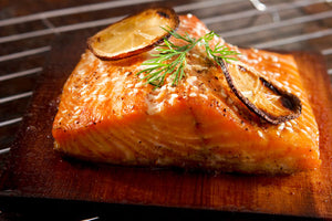 Hot Kiln Roasted , Scottish Salmon ( 1000g )
