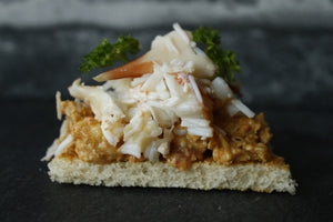 ${product_type Brown Crab Meat ( 250g ) The Berwick Shellfish Co.