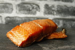 ${product_type Hot Smoked Salmon, Honey or Lime & Chilli 300g The Berwick Shellfish Co.