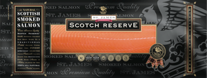 ${product_type St James Smoked Salmon ( Original Scotch Reserve-cold smoked) The Berwick Shellfish Co.