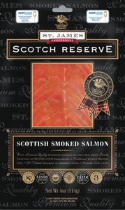 ${product_type St James Smoked Salmon ( Original Scotch Reserve ) ( 200g ) The Berwick Shellfish Co.