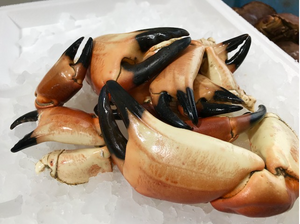 Whole Cooked Crab Claws ( 1 kg pack )