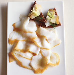 Cold Smoked Halibut (200g) Sliced