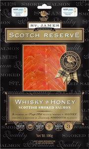 ${product_type Whisky & Wild Honey Infused Smoked Salmon ( 200g ) The Berwick Shellfish Co.