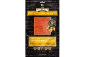 ${product_type Champagne & Orange Infused Smoked Salmon ( 200g ) The Berwick Shellfish Co.
