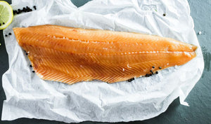 ${product_type Side of Fresh, Scottish Salmon ( 900g ) The Berwick Shellfish Co.