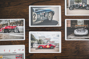 Classic Car Premium Postcards - Pack of 6