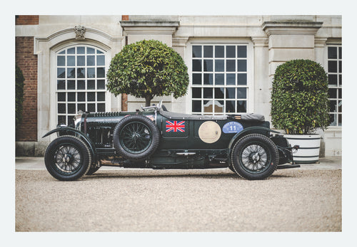 Bentley 4½-Litre 'Blower' Le Mans Tourer - FINE ART PRINT