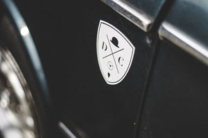 Drive Classics 'Shield' Sticker