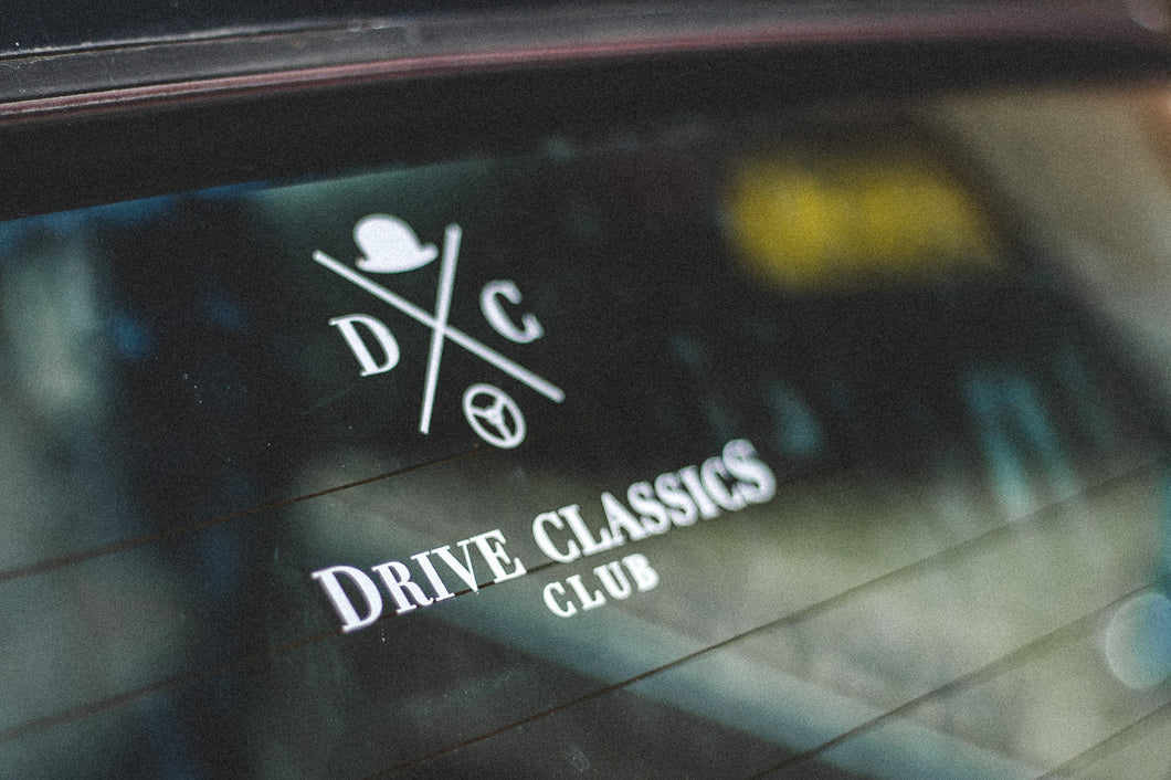 Drive Classics Club Sticker