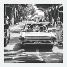 Load image into Gallery viewer, Ford Thunderbird at Goodwood Revival - FINE ART PRINT