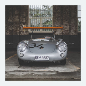 Porsche 550 RS Spyder 'The Wing' - FINE ART PRINT