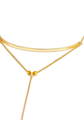 atelier necklace - gold