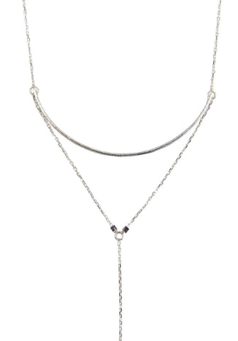 atelier necklace - silver